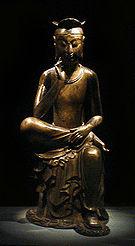 Bodhisattva contemplativo - Museu Nacional da Coréia