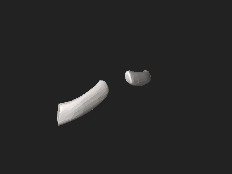 File:BodyParts3D Fourth costal cartilage.stl