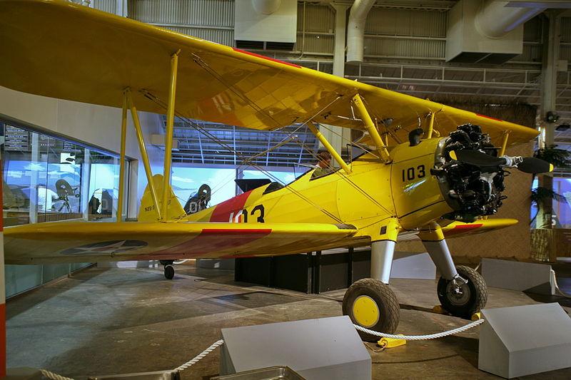 File:Boeing-Stearman Model 75 (2857381657).jpg