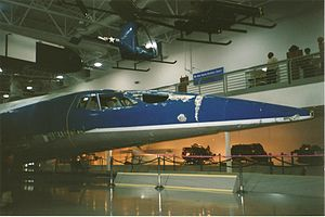 Mockup - Boeing 2707 mockup at the Hiller Aviation Museum