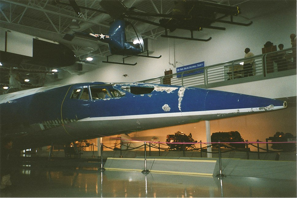 Boeing 2707 mock-up