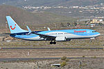 Boeing 737-8K5(w) 'G-TAWS' Thomson Airways (24417098904).jpg