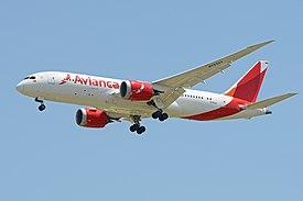 Boeing 787-8 'N783AV' Avianca (26953627630).jpg