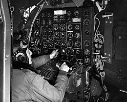 Boeing B-29 flight engineer's panel.jpg