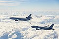 Boeing and 418th Flight Test Squadron conducting ground effects and fuel onload fatigue testing on new KC-46A Pegasus.jpg