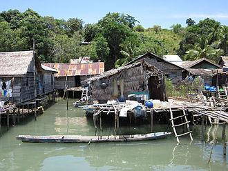 Sama-Bajau - Bokori, a Sama-Bajau village in southwest Sulawesi, Indonesia