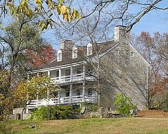 Daniel Boone Home - Image: Boone Home Defiance MO 27