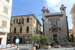 Church of the Immaculate Conception or Terrasanta - Image: Bordighera chiesa dell'Immacolata Concezione o di Terrasanta