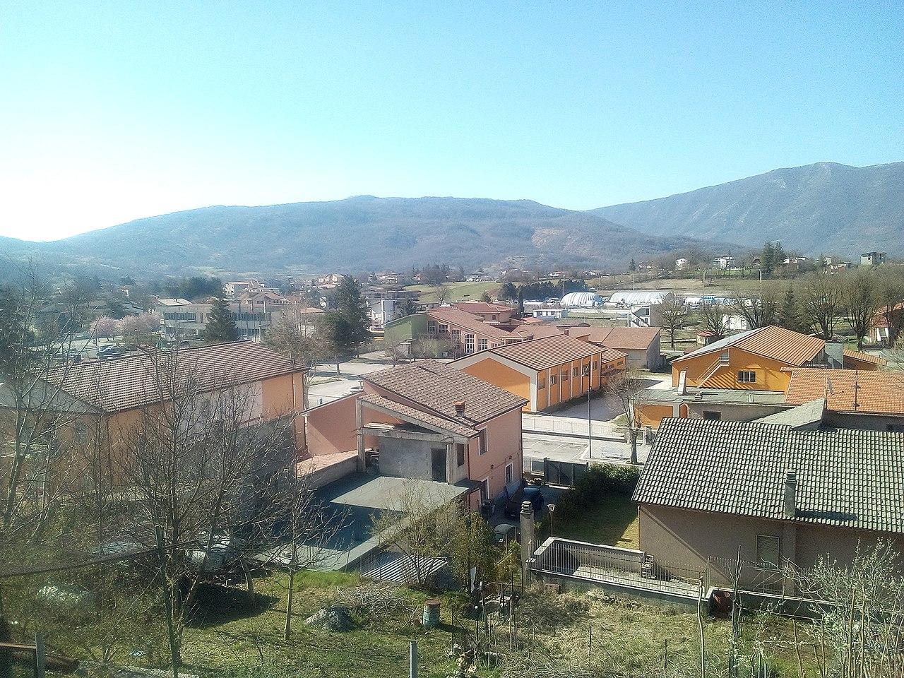 Borgorose – Veduta