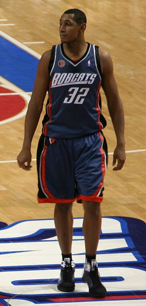 Boris Diaw - Diaw with the Bobcats in 2009