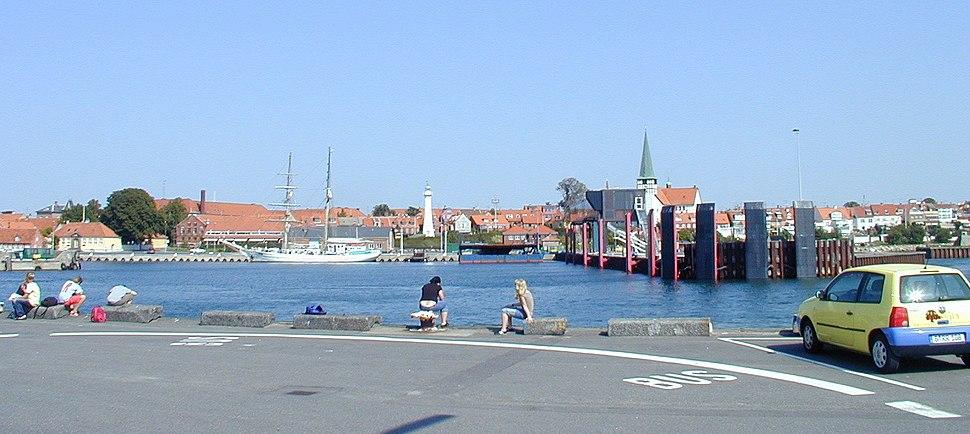 Bornholm Denmark - Roenne harbour