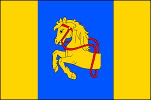 Borotín (Tábor District) - Image: Borotin TA CZ flag