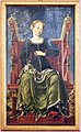 Bottega di cosmè tura, musa erato, 1450 ca., dallo studiolo di belfiore, 01.jpg