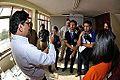 Bottle Vortex Demonstration - Indo-Finnish-Thai Exhibit Development Workshop - NCSM - Kolkata 2014-11-27 9854.JPG