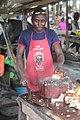 Boucher de porc fumé à Aboisso 03.jpg