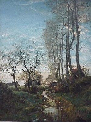 Hippolyte Boulenger - Josaphat Valley at Schaarbeek