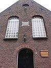 boxmeer rijksmonument 10042 kerk veerstraat 24, voorgevel
