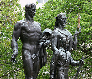Boy Scouting (Boy Scouts of America) - Boy Scout Memorial in President's Park, Washington, D.C.