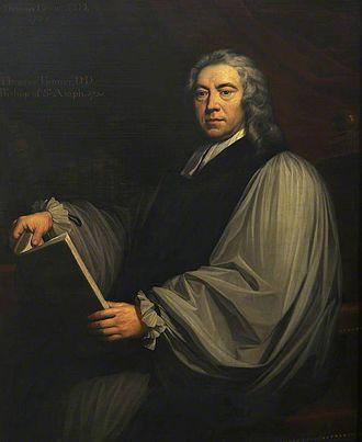 Thomas Tanner (bishop) - Bishop Tanner, 1731