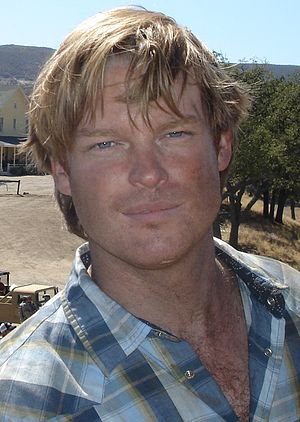 Brad Beyer - Beyer on the set of Jericho