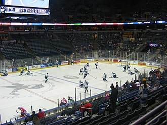Bradley Center - Image: Bradleycenterhockey