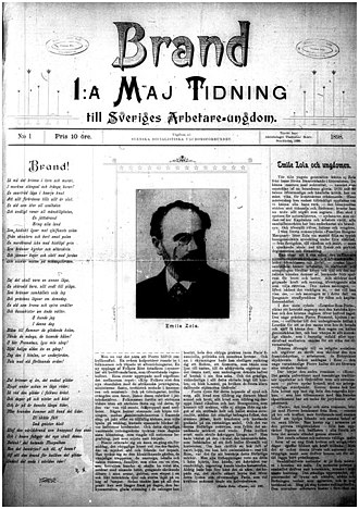 Brand (magazine) - First issue cover