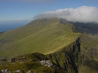Mount Brandon Mountain in Kerry, Ireland