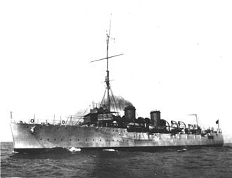 Brazil during World War I - Cruiser Bahia