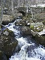 Bridge across Balmenoch Burn, nr Comrie, Perthshire - geograph.org.uk - 144940.jpg