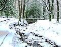 Bridge in the snow - geograph.org.uk - 2185545.jpg