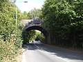 Bridge of dismantled railway over the A4119 - geograph.org.uk - 1516412.jpg