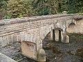 Bridge over spillway, More Hall Reservoir - geograph.org.uk - 1012655.jpg