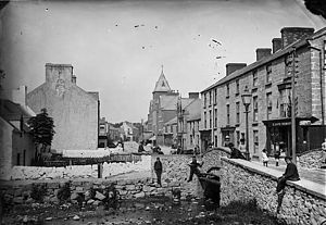 Abergele - Bridge Street, Abergele circa 1875