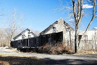 Bridgewater Iron Works - Remains of storage building.