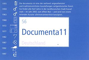 Documenta11 - Stamp Documenta XI 2002