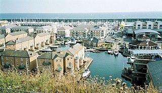 Brighton Marina marina situated in Brighton, England