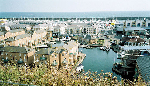 Brighton Marina, Sussex, UK