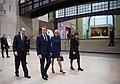 Brigitte and Emmanuel Macron at musée d'Orsay.jpg