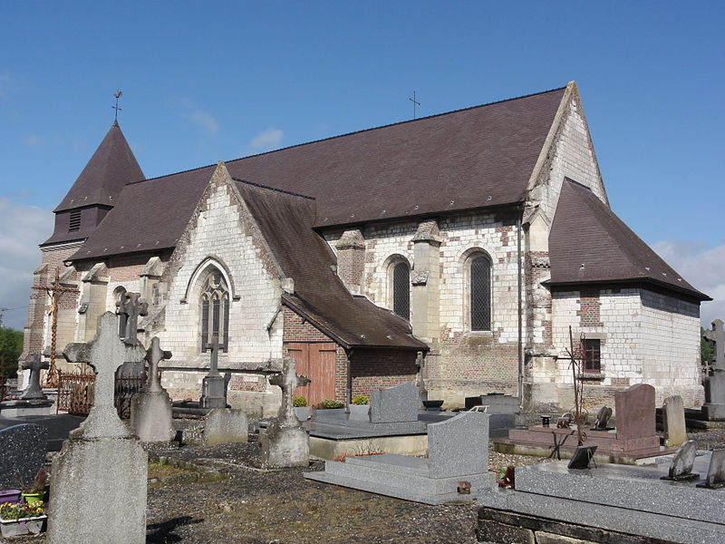 Brissay-Choigny (Aisne) église