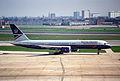 British Airways Boeing 757; G-BIKZ@LHR;13.04.1996 (4906512910).jpg