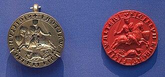 Baynard's Castle - Robert Fitzwalter's seal