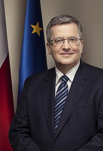 Civic Platform - Image: Bronisław Komorowski (2013)