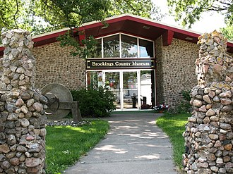 Volga, South Dakota - The Brookings County Museum in Volga.