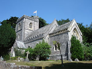 Brownsea Island - St Mary's Church, built in 1854