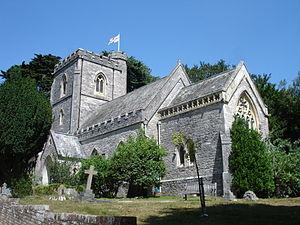 Brownsea Island - St Mary's Church, built in 1854