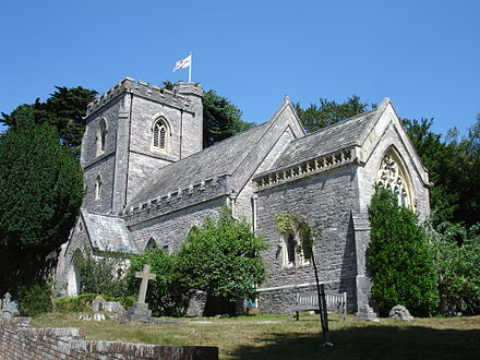 St Mary's Church, built in 1854 Brownsea Island 5.jpg