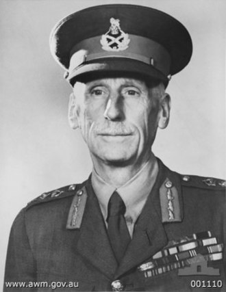 Brudenell White - General Sir Brudenell White in March 1940