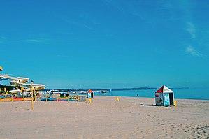 Brzeźno - Image: Brzezno Beach in Gdansk 3