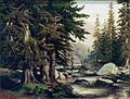 Bubak, Alois - Krajina s horskym potokem.jpg