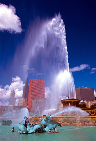 Chicago Park District - Image: Buckingham Fountain Chicago IL